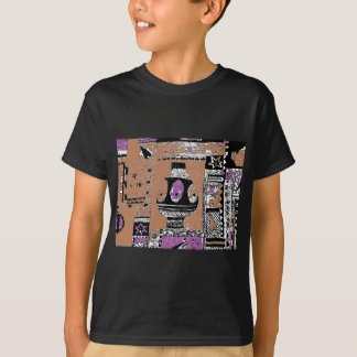 考古学的な発掘のデザイン Tシャツ