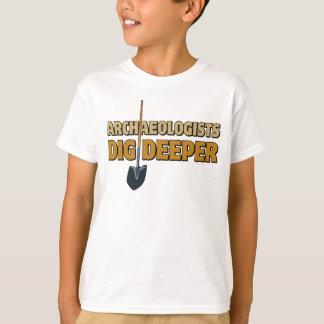 考古学者の発掘 Tシャツ