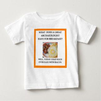 考古学者 ベビーTシャツ