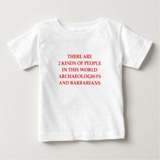 考古学 ベビーTシャツ