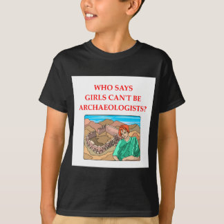 考古学 Tシャツ