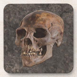 考古学II -石効果の背景のスカル コースター