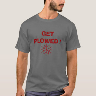 耕される得て下さい Tシャツ