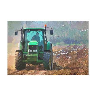 耕作 キャンバスプリント