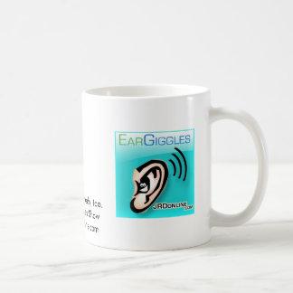 耳の必要性の喜劇、余りに。EarGigglesショー… コーヒーマグカップ