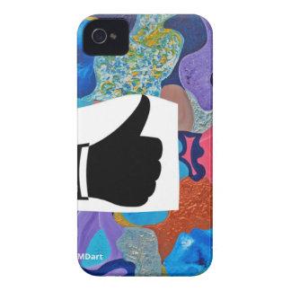 耳の親指 Case-Mate iPhone 4 ケース