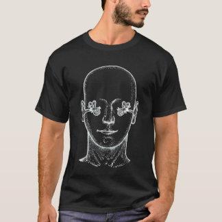 耳の解剖学の図表 Tシャツ