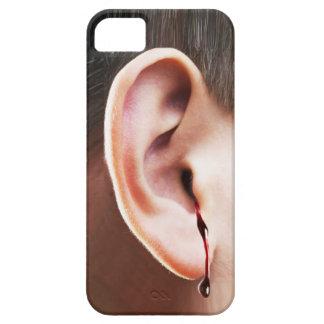 """""""耳まで"""" iPhone 5の場合をやっとそこに出血させます iPhone 5 Case-Mate ケース"""