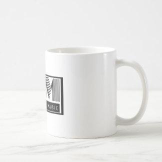 耳キャンデー音楽マグ コーヒーマグカップ