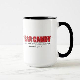 耳キャンデー15のozのマグ マグカップ