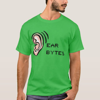 耳バイトのTシャツ Tシャツ