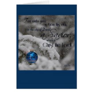 聖なる書物、経典のクリスマスカード カード