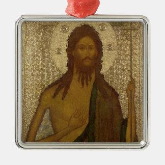 聖ヨハネのアイコン前触れ メタルオーナメント