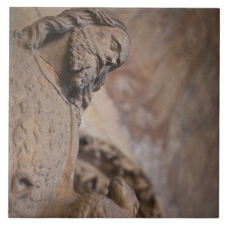 聖ヨハネの彫像バプテスト タイル
