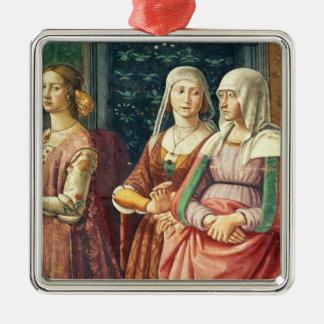 聖ヨハネの誕生からのフィレンツェの女性、 メタルオーナメント