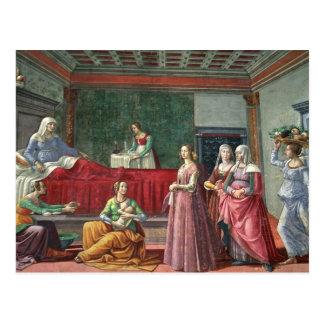 聖ヨハネの誕生バプテスト(フレスコ画) (Alを見て下さい ポストカード