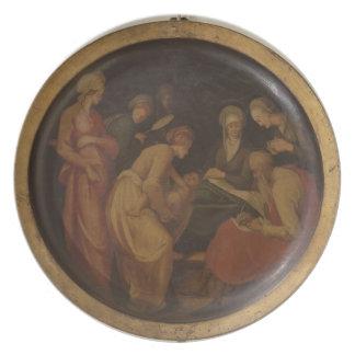 聖ヨハネの誕生バプテスト、c.1526 (油 プレート
