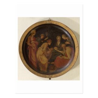 聖ヨハネの誕生バプテスト、c.1526 (油 ポストカード