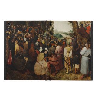 聖ヨハネの説教Pieter Bruegel著バプテスト iPad Airケース