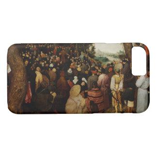 聖ヨハネの説教Pieter Bruegel著バプテスト iPhone 8/7ケース