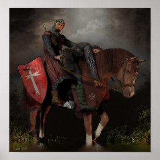 聖ヨハネの騎士Hospitaller ポスター