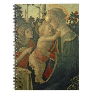 聖ヨハネを持つマドンナそして子供バプテスト(油o ノートブック