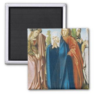 聖ヨハネを持つ聖母マリア福音伝道者 マグネット