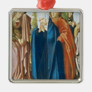 聖ヨハネを持つ聖母マリア福音伝道者 メタルオーナメント