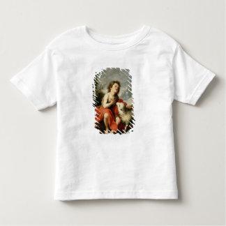 聖ヨハネ子供、c.1665としてバプテスト トドラーTシャツ