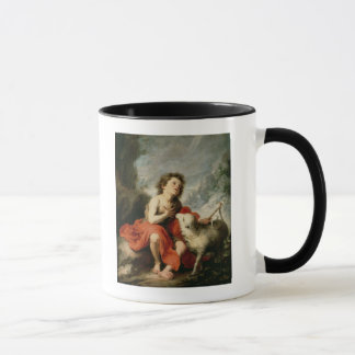 聖ヨハネ子供、c.1665としてバプテスト マグカップ