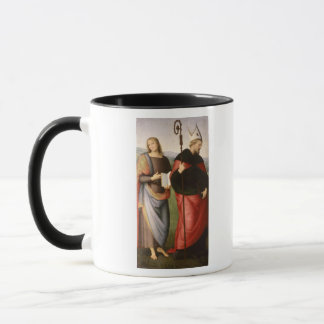 聖ヨハネ福音伝道者そしてセントオーガスティンの マグカップ