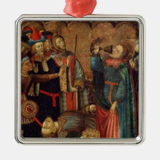 聖ヨハネ福音伝道者の飲むこと メタルオーナメント