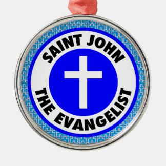 聖ヨハネ福音伝道者 メタルオーナメント