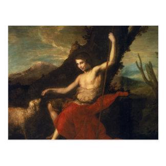 聖ヨハネ荒野のバプテスト ポストカード