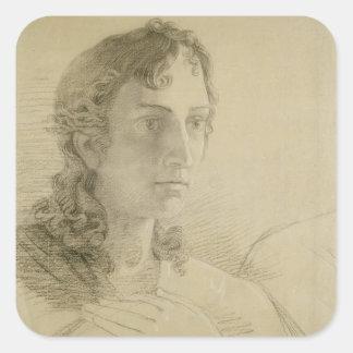 聖ヨハネ1806年の頭部そして手 スクエアシール