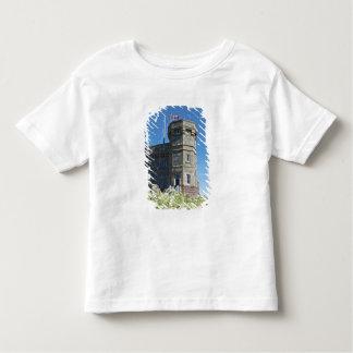 聖ヨハネ、ニューファウンドランド、カナダのCabotタワー、 トドラーTシャツ