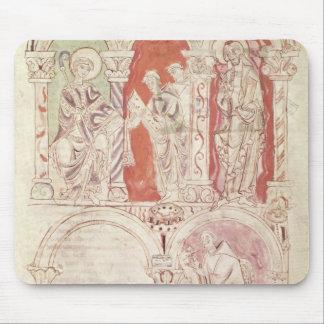聖ヨハネCassianの執筆および修道士の提供 マウスパッド