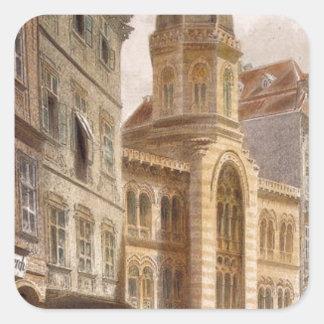 聖三位一体のギリシャ教会、ルドルフ著ウィーン スクエアシール