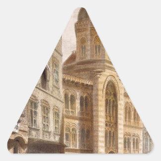 聖三位一体のギリシャ教会、ルドルフ著ウィーン 三角形シール