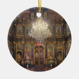 聖三位一体のギリシャ正教会ウィーンオーストリア セラミックオーナメント