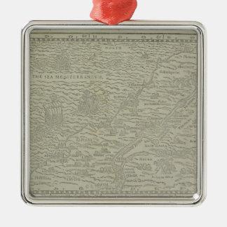 聖地の地図 メタルオーナメント