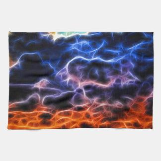 聖書の充電された積雲Skyscape キッチンタオル