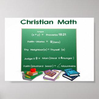 聖書の数学 ポスター