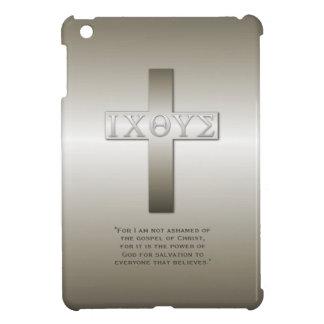 聖書の詩のギリシャ人のIcthysの十字 iPad Mini Case