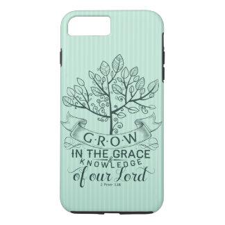 聖書の詩は優美のiPhone 7の場合で育ちます iPhone 8 Plus/7 Plusケース