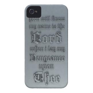 聖書の詩カバー Case-Mate iPhone 4 ケース