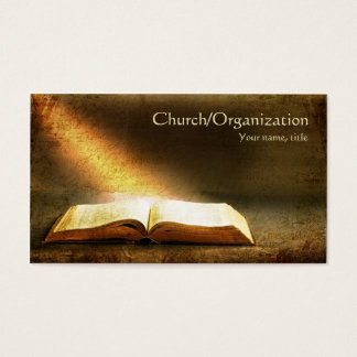 聖書キリスト教宗教名刺 名刺