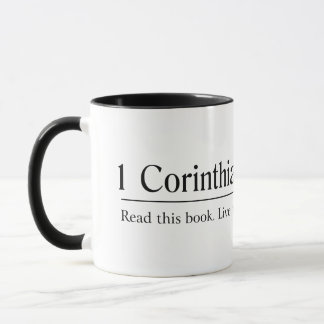 聖書1のCorinthiansに13:11 - 13 --を読んで下さい マグカップ