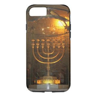 聖書7ランプ((ユダヤ教)メノラー)とのiPhoneの場合。 iPhone 8/7ケース
