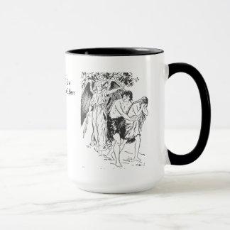 聖書:  アダム及びイブ マグカップ